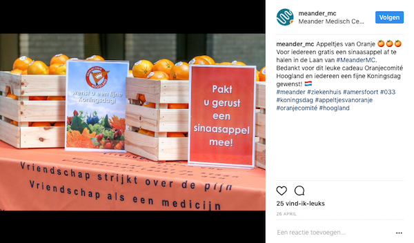 Instagram in de zorg - case Meander