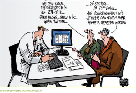 Zorgconsument en online zorgmarketing